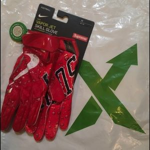 Men's Nike Supreme Vapor 4.0 Football Gloves SizeM